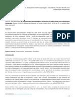 As Relações Entre Antropologia e Psicanálise -  Psicólogo Alan Ferreira dos Santos