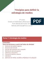 Alcance y Frecuencia - Planificación de medios publicitarios