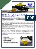 28V DC Helicopter Engine Start System