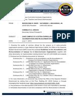 Memorandum No. 002 2019 No Sig