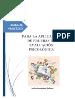 2019 Manual Pruebas Psicológicas