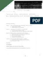 Índice Del Informe Sobre El Desarrollo Mundial 1997