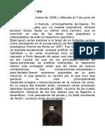 Georges Bizet - Bio