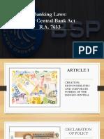 General banking act