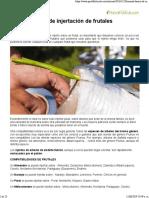 Manual Básico de Injertación de Frutales