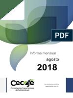 CECAFE Relatorio Mensal AGOSTO 2018.Pt.es
