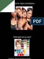 Aplicação das cores na Imagem pessoal