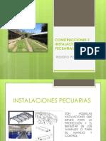 6. Construcciones e Instalaciones Pecuarias