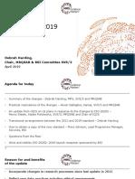 Presentation ISO 20252