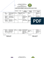 Gad Action Plan 2019-2020