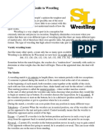 Beginners Guide to Wrestling