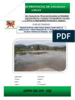 Informe Final Rehabilitacion c.p. Chahuarma