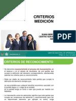 Criterios Reconocimiento y Medición Niif