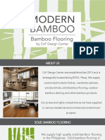Modern Bamboo Brochure Reference 2019