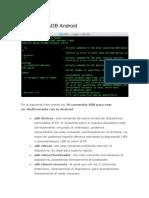 comandos Android ADB