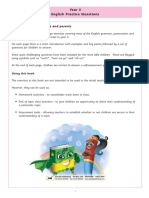 Year 3 English Practice Questions Answer Booklet