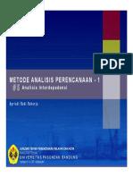 Analisis Interdepedensi (MDS)