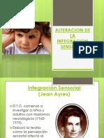 Alteracion de La Integracion Sensorial