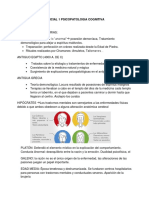Parcial 1 Psicopatologia Cognitiva