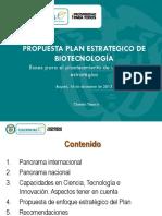 1593-Plan estratégico Biotecnología  Versión preliminar