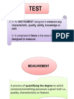 Let Review - 1 - Assessment - Introduction of Assessment and Evaluation as Well as Their Characteristics