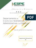 Actividad Entregable Negociacion Internacional III