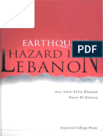 EARTHQUAKE HAZARD IN LEBANOIN