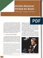 La comision de la verdad en brasil
