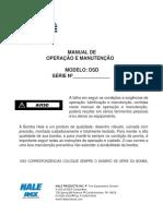 Hale Pumps - DSD Pump Manual - Potuguese
