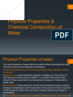 Physical & Chemical of H2O