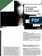 Manual Casio Fx-6300g Part.1