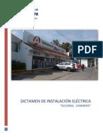 Formato Base Para Dictamen de La Instalaciones Electricas 2019