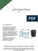 Foto básica - Clase 3