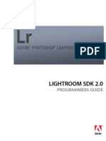 Adobe Photoshop Lightroom SDK 2.2 Guide