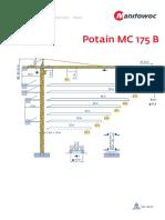Grua Potain MC175B