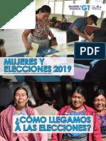 Mujeres y Elecciones 2019