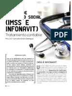Tratamiento Contable Cuotas de Seguridad Social IMSS e INFONAVIT
