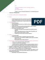 Aula 01 - Direito Administrativo - Estado, Governo e Administração Pública