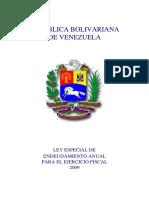 07. Ley de Endeudamiento 2009