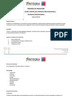 Formato Proceso de INDUCCIÓN JI 2017 DIRECTORA Sin Adm y Administrativas