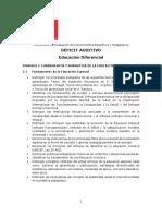 Ed. Diferencial Déficit Auditivo