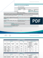 Formato de Secuencia Didáctica COSDAC
