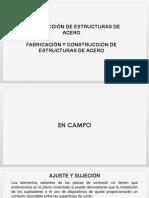 Estructuras de Acero en Campo