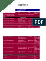 schedule CIOM