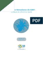Perfil de Metadatos de GBIF