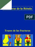 Fracturas de La Rotula