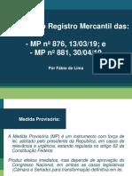 Apresentação - Impactos MP 876 e 881