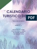 Calendario Turistico de Ica