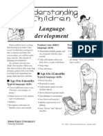 Children Language Devt