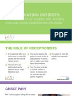 Deteriorating Patients an Introduction for GP Reception Staff Slides FINAL
